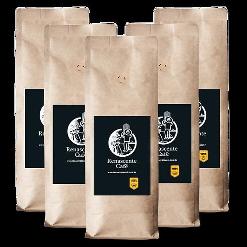Renascente Café - Clássico Torrado em Grãos | 5kg