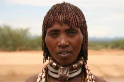 エチオピア・ハマル族の第一夫人