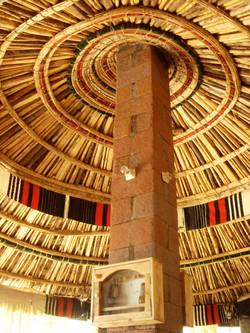エチオピア・家の天井
