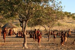 ナミビア・ヒンバ族の村