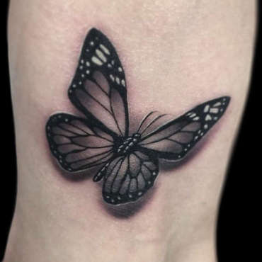 best-tattoos-for-women-3d-butterfly-tatt