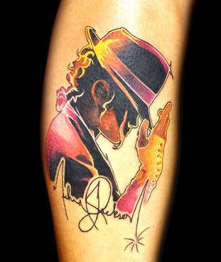 Michael Jackson One Las Vegas Tattoo Artist Danny Valens