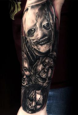 best-portrait-tattoo-artists-in-las-vegas-strip-downtown-near-me-derek-calkins-slipknot-ta