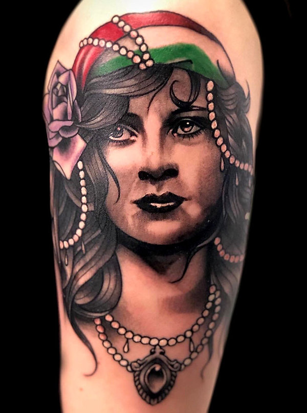 custom tattoos realistic portaits las vegas