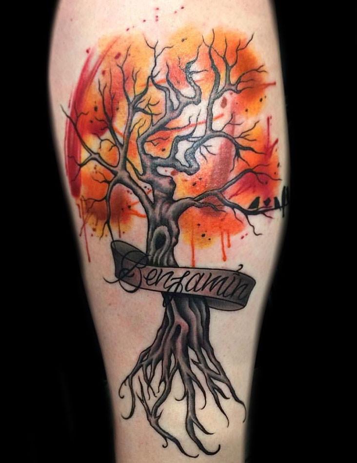watercolor tattoos in las vegas