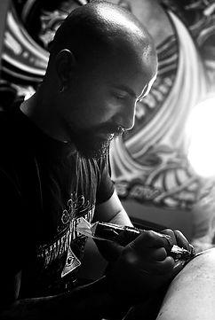 Las Vegas tattoo artist cristian ogando