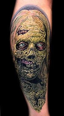 best portrait tattoo artist in Las Vegas Joe Riley