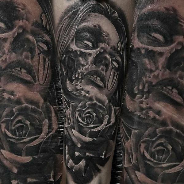 portrait realism tattoos in las vegas