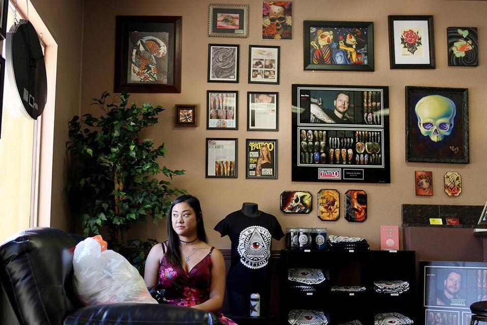 best tattoo shops in las vegas, inner visions tattoo