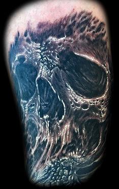 best las vegas tattoo artists skull tattoos