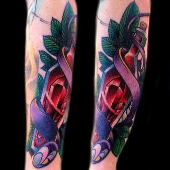 best-neo-traditional-tattoos-las-vegas-t