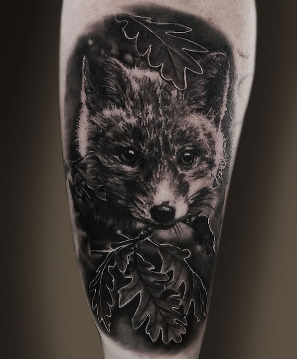animal portrait tattoo artists in las vegas