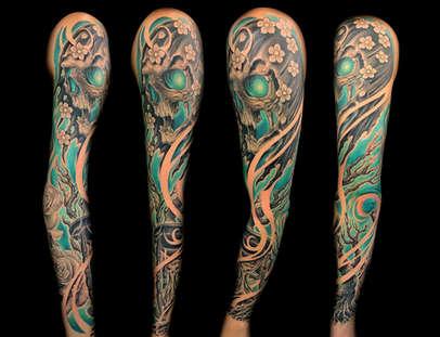Best Grim Reaper Tattoos Joe Riley Las Vegas
