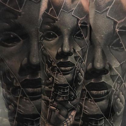 las vegas portrait tatttoo artist