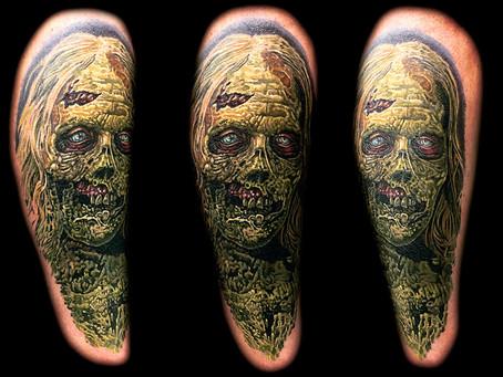 Horror Themed Tattoos