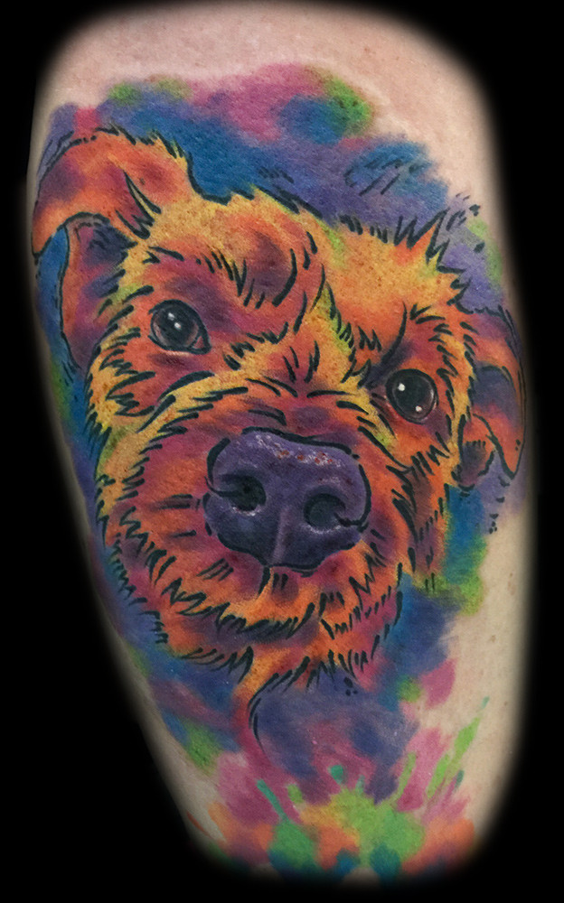 water color tattoo shops las vegas