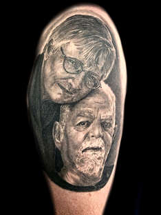 Portrait Tattoo Artist Las Vegas Joe Riley
