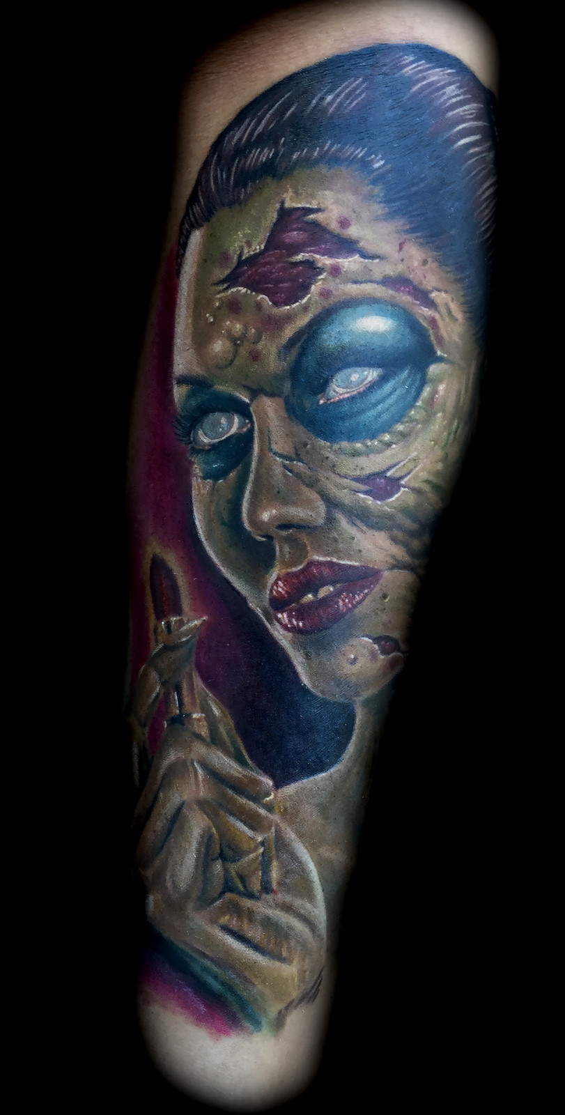 zombie-tattoo-best-tattoo-shops-in-las-vegas-tattoos-artists-strip ...