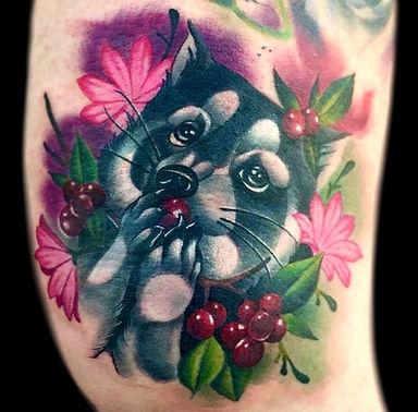 animal portrait tattoos las vegas