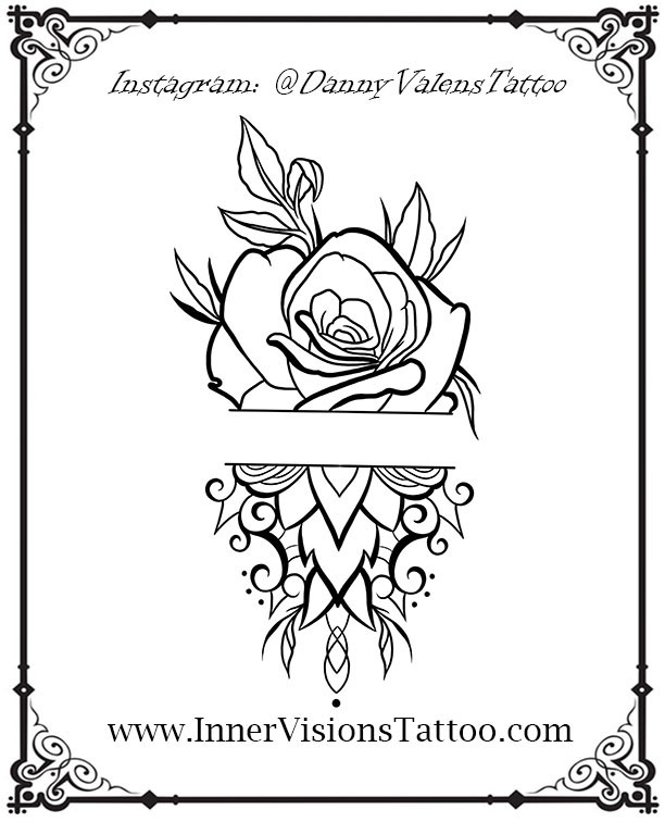 best las vegas floral tattoos