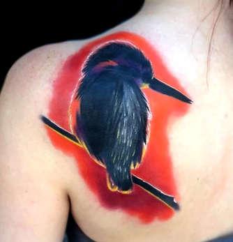 Colorful Bird Tattoo - Las Vegas - Josh Herrera