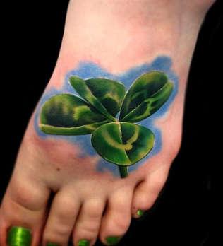 Realistic Shamrock Tattoo - Las Vegas - Josh Herrera