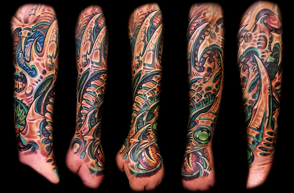 best biomech tattoo artists