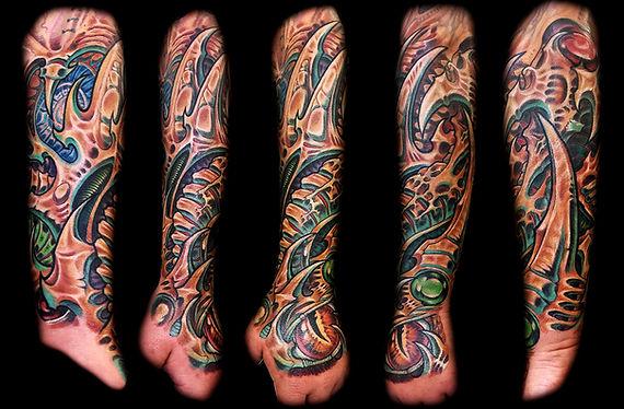 las vegas tattoo artists biomech tattoos