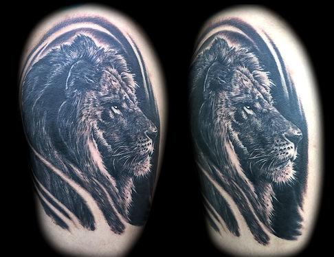 best tattoo artist in las vegas lion tattoos