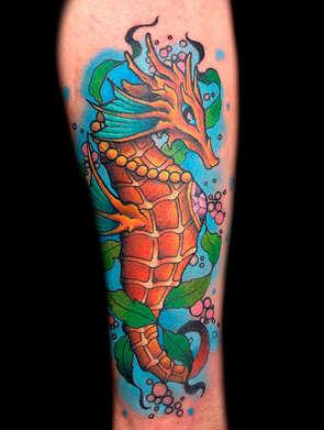 Seahorse Tattoos Las Vegas Tattoo Artist Danny Valens