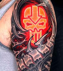 biomechanical tattoo artists las vegas best tattoos