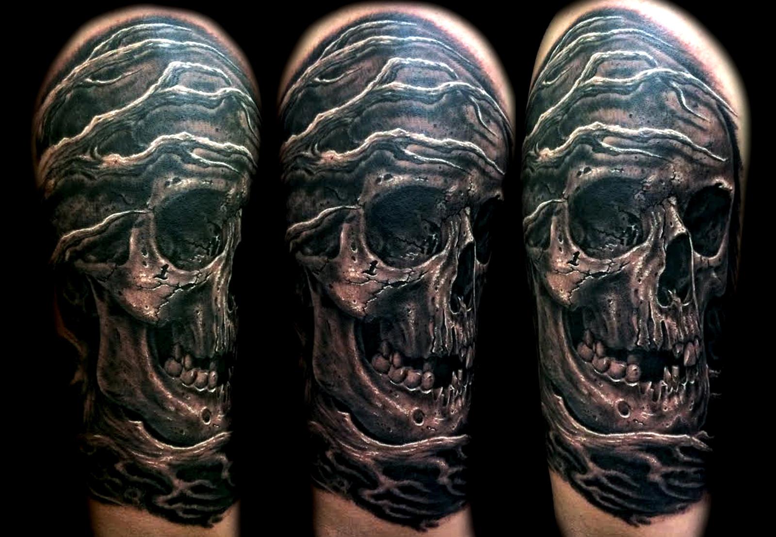 Skull tattoo las vegas best tattoo shops artists hesderson for Tattoo shops in henderson