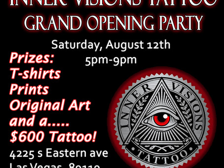 Inner Visions Tattoo Grand Opening Party