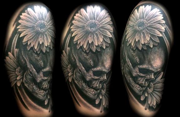 best las vegas tattoo artist skull tattoos