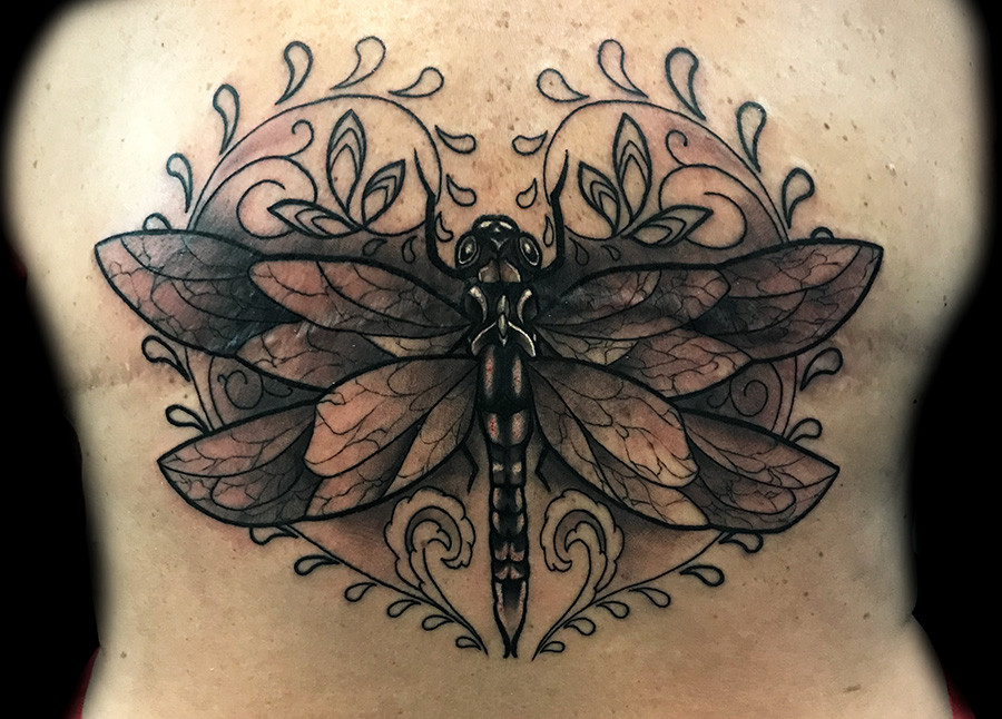 Dragonfly Tattoos For Women Female Ink Best Tattoo Shops Jpg