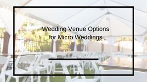 Edmonton Venue Options for Small Weddings