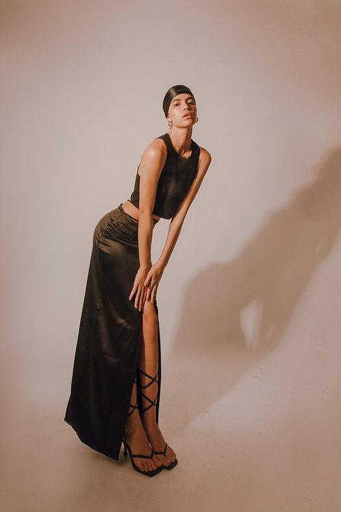 Campbell Skirt 𝑖𝑛 𝐵𝑙𝑎𝑐𝑘