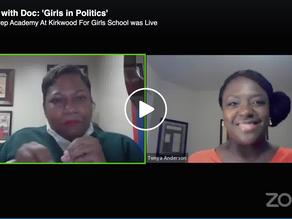 "Roc with Doc talks ""Girls in Politics"""