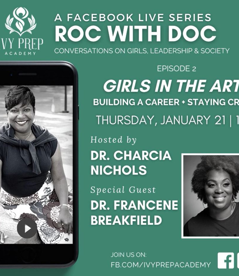 Roc with Doc! Girls in the Arts