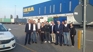 Gruppo partecipanti Visita IKEA 25 10 20