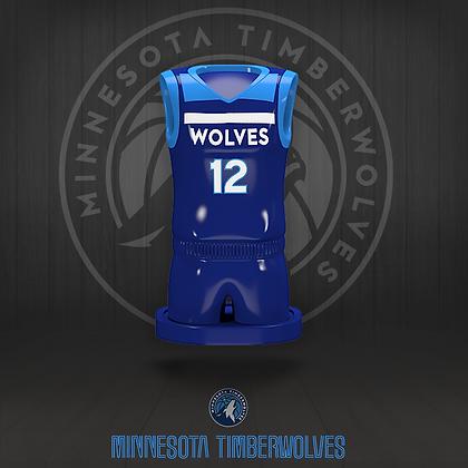 Minnesota Timberwolves 3D figure – Official NBA Collection