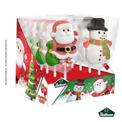 Χριστουγεννιάτικο Γλειφιτζούρι Marshmallow 45g