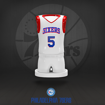 Philadelphia 76ers 3D figure – Official NBA Collection