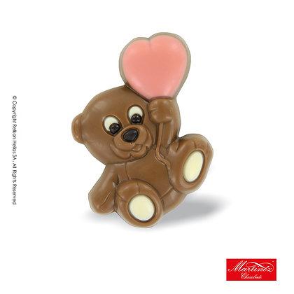 Choco Φιγούρες Αρκουδάκι ροζ Kαρδιά