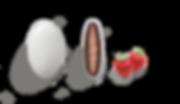 koufeto ciocopassion strawberry