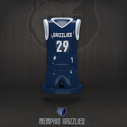 Memphis Grizzlies 3D figure – Official NBA Collection