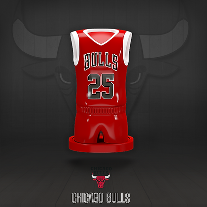 Chicago Bulls 3D figure – Official NBA Collection