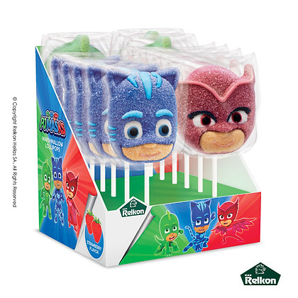 PJ Masks Marshmallow Lollipop 45g