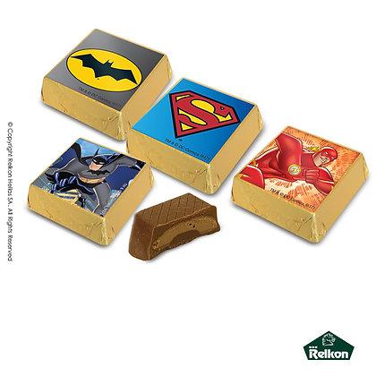 Σοκολατάκι Τυλιχτό Τετράγωνο Justice League