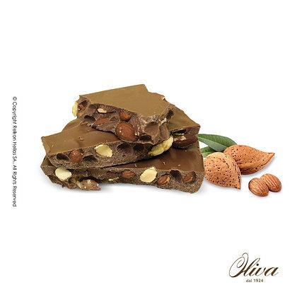 Blocks Σοκολάτα Γάλακτος - Αμύγδαλο